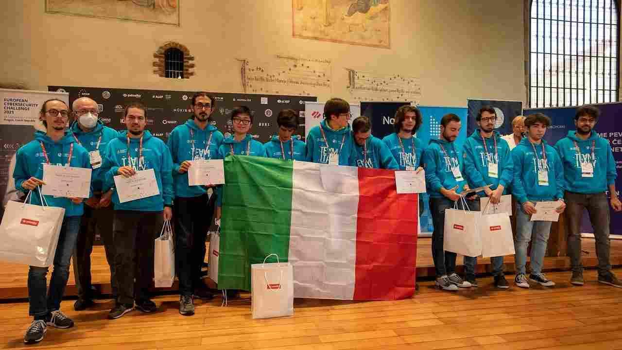 Team Italia di hacker etici (Foto Techprincess)