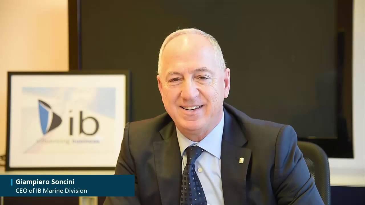 Giampiero Soncini, CEO di Influecing Business (IB Marine)