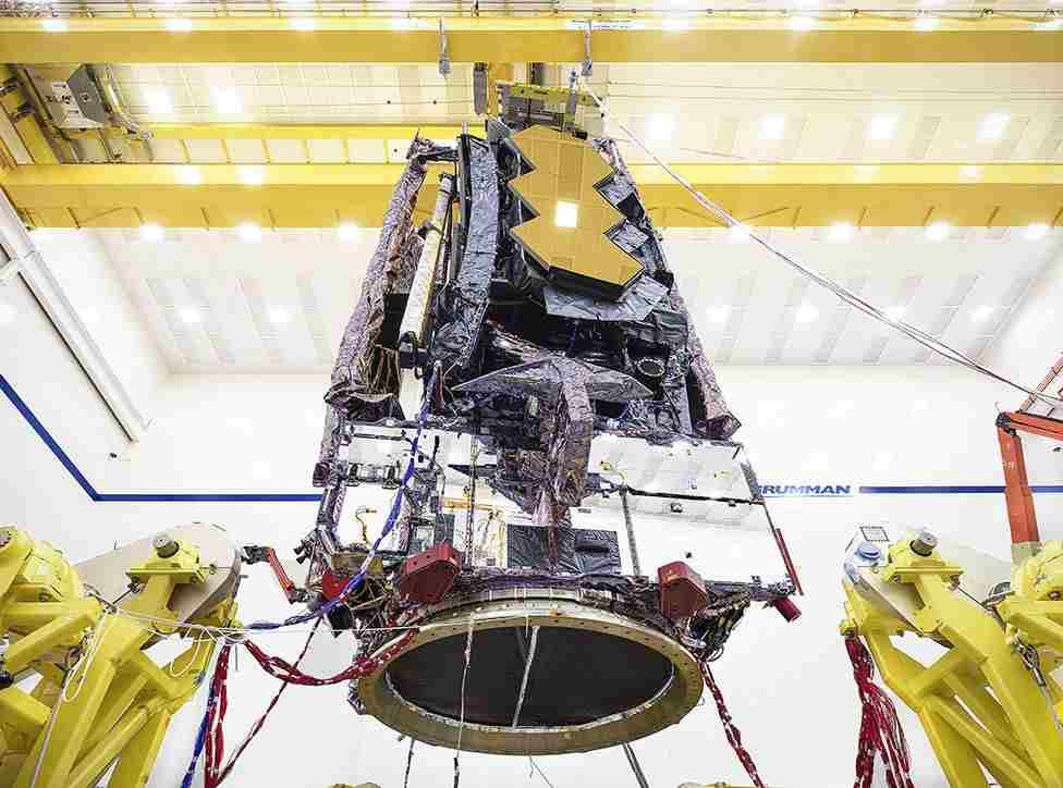 James Webb, un mega telescopio da da 10 miliardi di dollari, circa 865 milioni di euro (NASA)