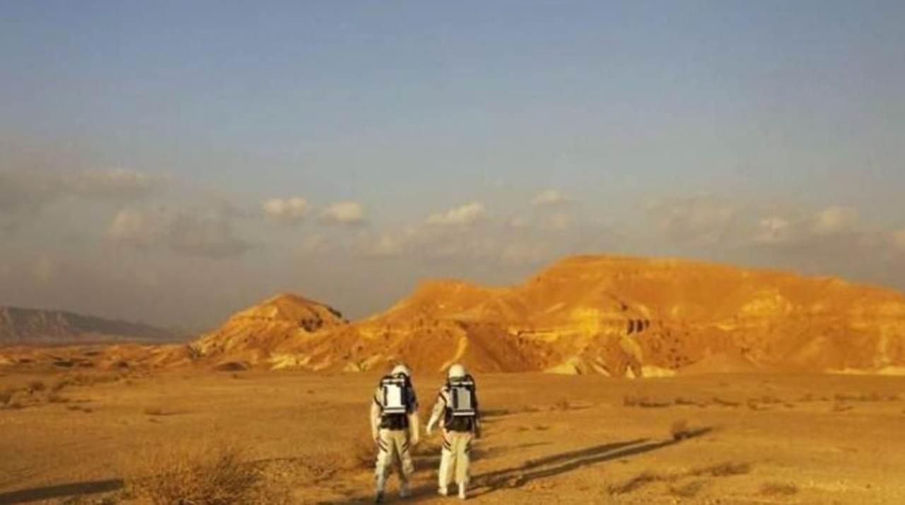 Missione Marte nel deserto del Negev (Foto RaiNews)