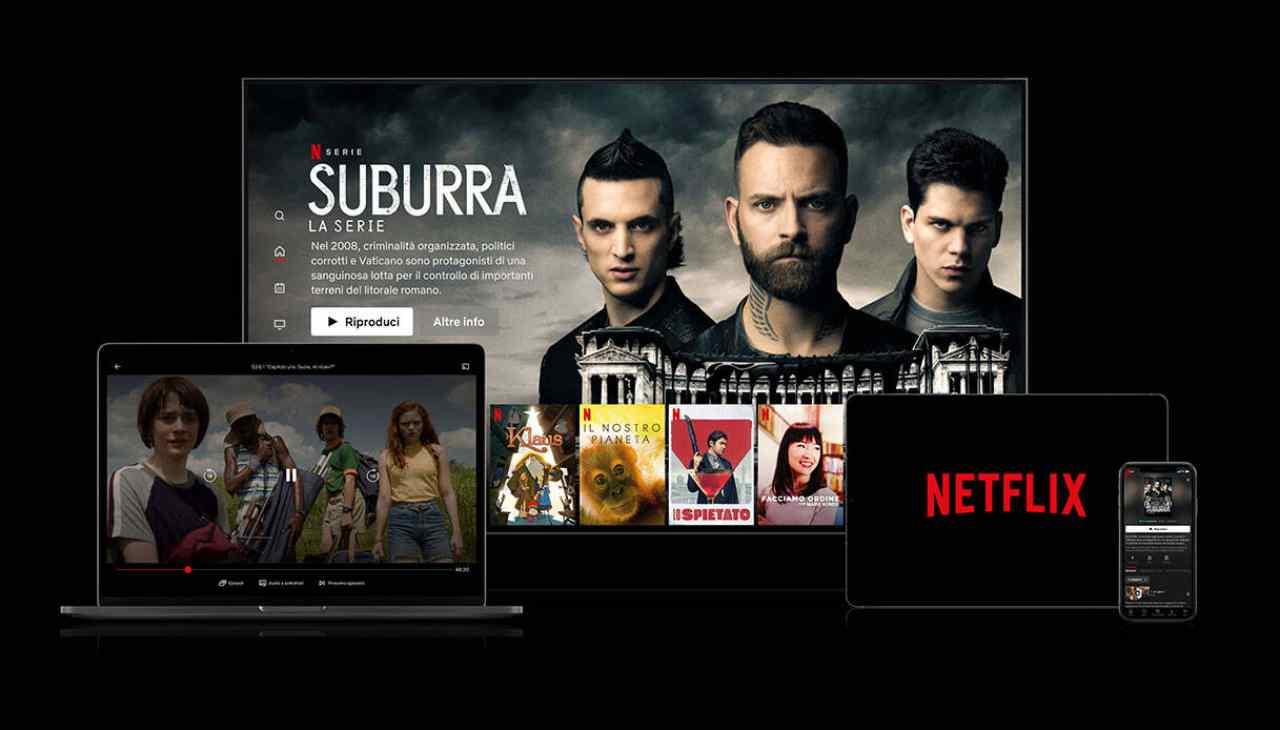 Netflix, abbonamenti in rialzo