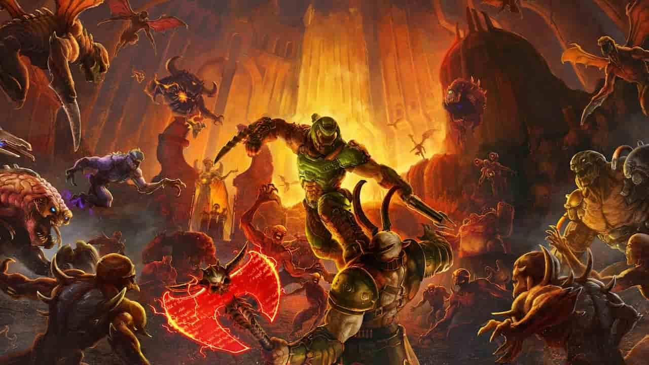 Doom Eternal si mostra nella vers. 6.66 Horde Mode: il trailer è pazzesco – VIDEO