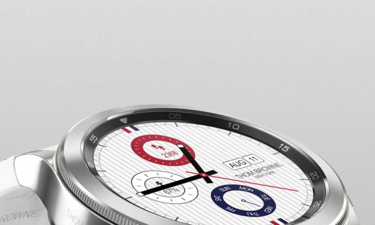 Nuovo smartwatch Samsung a ricarica solare?