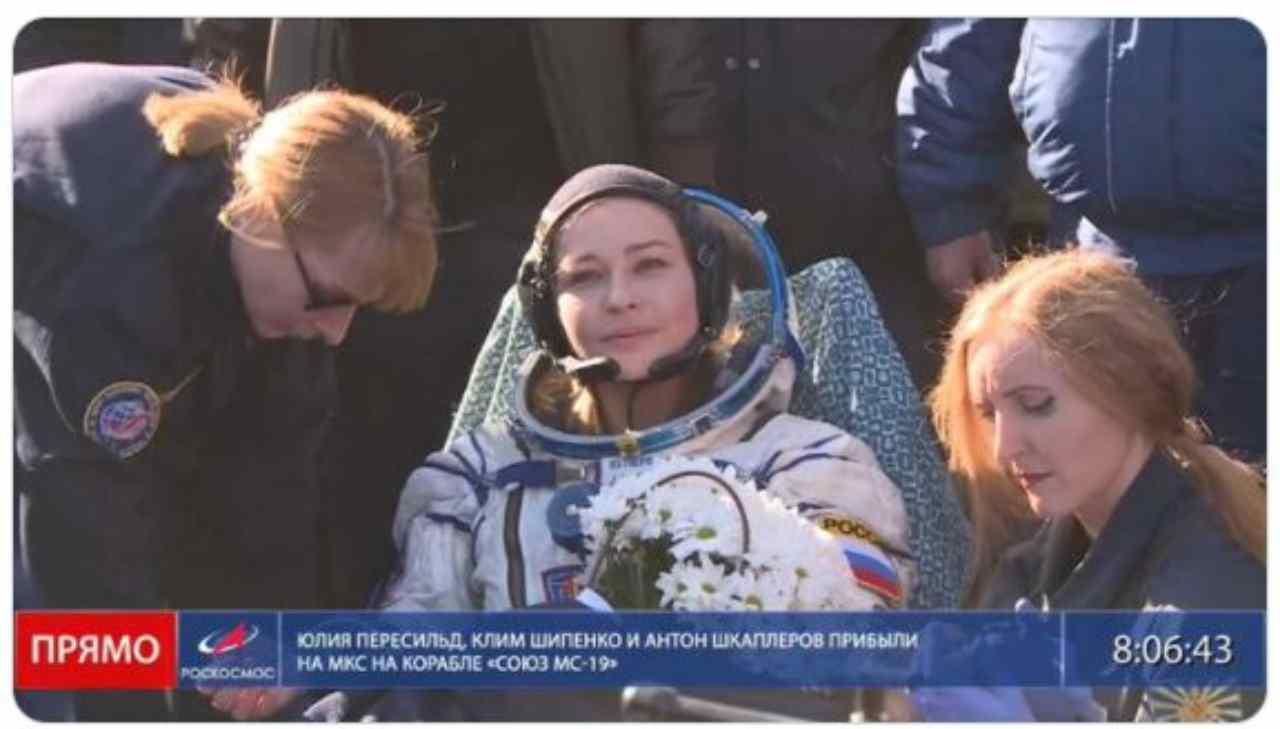 Il team russo ha concluso le riprese nello Spazio: un record assoluto ma il risultato?