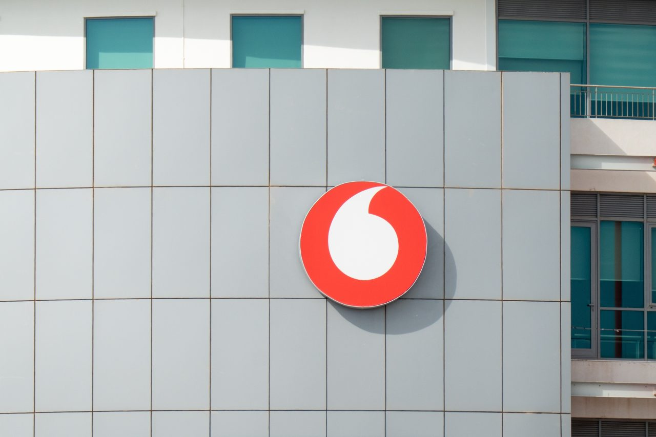 Vodafone, un operatore telefonico nato nel 1984 e con sede a Londra (Adobe Stock)