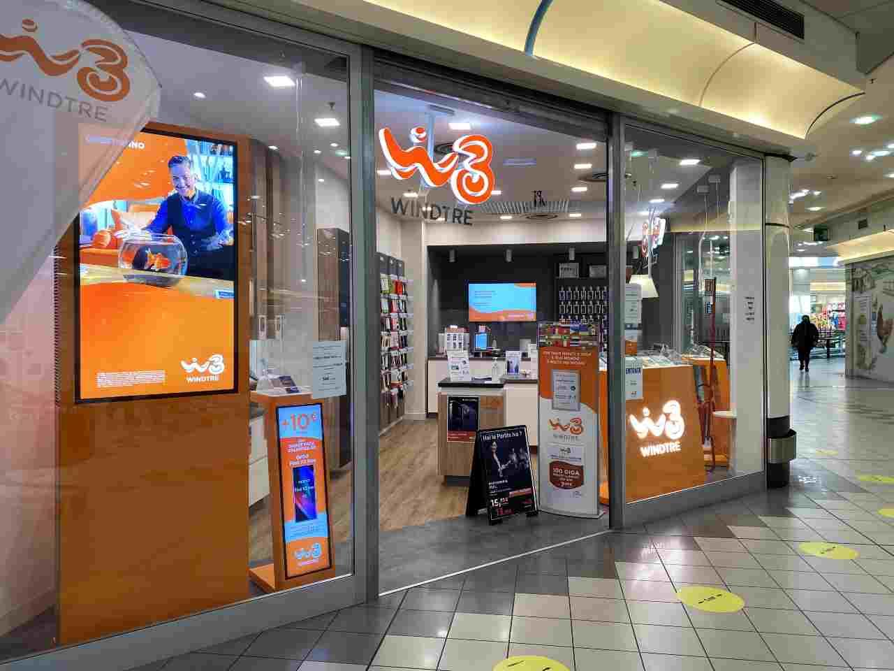 WindTre, azienda italiana del gruppo CK Hutchison Holdings operante nel settore delle telecomunicazioni (Adobe Stock)